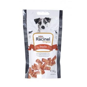 Racinel Beefstick bits beef&game 60g, Racinel pihvitikkupalat härkä&riista 60g