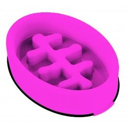 M-PETS Fishbone Ahmimisenestokuppi ovaali pinkki