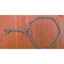 Käärmeketju hopeanvärinen 2mm