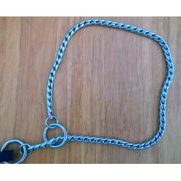 Käärmeketju hopeanvärinen 5mm