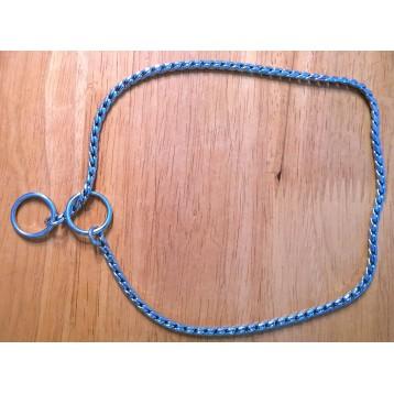 Käärmeketju hopeanvärinen 3,5mm