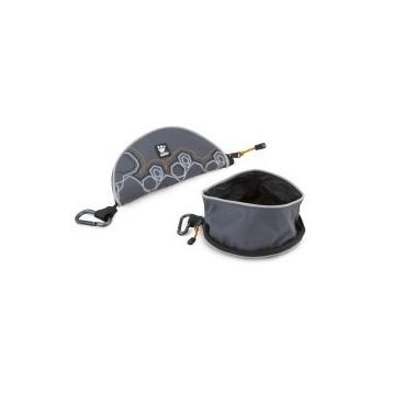 Hurtta Outdoors Fountain Bowl taitettava juomakuppi graniitti