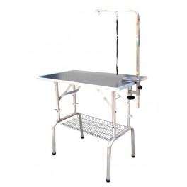 Korkeussäätöpöytä, (pituus 70cm) Musta