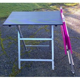 Taittopöytä, ultrakevyt, (pituus 90cm), Musta
