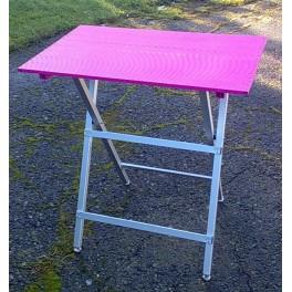 AEOLUS Taittopöytä, ultrakevyt, (pituus 75cm), Pink