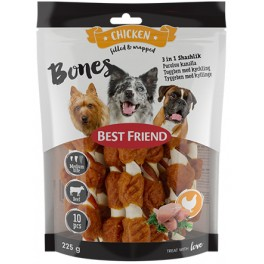 Best Friend Bones 3in1 Shashlik 12cm 10kpl 225g