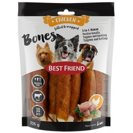 Best Friend bones 3in1 Kebab 12cm 10kpl 225g